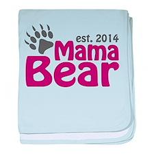 Mama Bear New Mom 2014 baby blanket