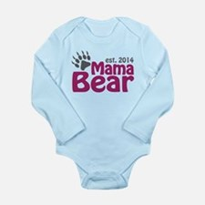 Mama Bear New Mom 2014 Long Sleeve Infant Bodysuit