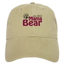 Mama Bear New Mom 2014 Baseball Cap