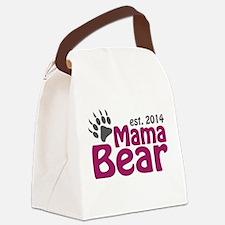 Mama Bear New Mom 2014 Canvas Lunch Bag