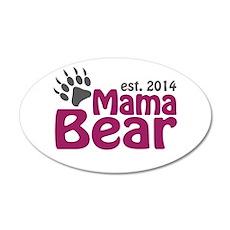 Mama Bear New Mom 2014 Wall Decal