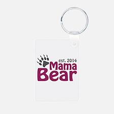 Mama Bear New Mom 2014 Keychains