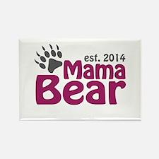 Mama Bear New Mom 2014 Rectangle Magnet