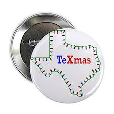 "TeXmas Lights 2.25"" Button"