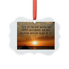 Psalm 118:24 Ornament