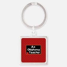 okteacher2 Square Keychain