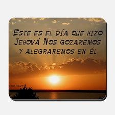 Salmos 118:24 Spanish Mousepad