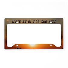 Salmos 118:24 Spanish License Plate Holder