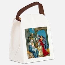 Wise Men Visit Canvas Lunch Bag