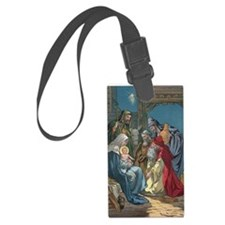 Wise Men Visit Luggage Tag