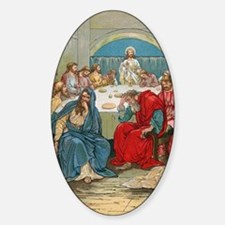 Last Supper Sticker (Oval)