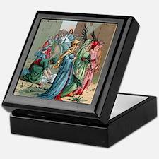 Jesus2Jerusalem1 Keepsake Box