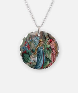 Jesus2Jerusalem1 Necklace