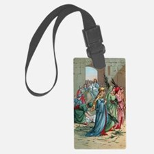 Jesus2Jerusalem1 Luggage Tag