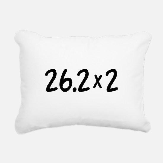 26.2 x 2 Marathon Rectangular Canvas Pillow