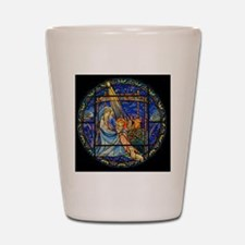 Nativity Window Shot Glass