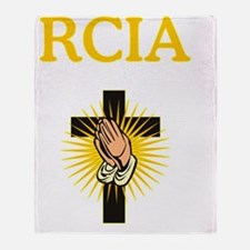 RCIA Cross Throw Blanket