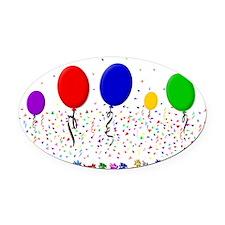 Xhosa Happy Birthday Oval Car Magnet
