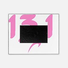 Pink 13.1 half-marathon Picture Frame