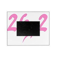 Pink 26.2 marathon Picture Frame