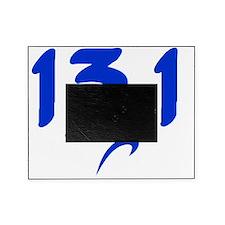 Blue 13.1 half-marathon Picture Frame