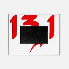 Red 13.1 half-marathon Picture Frame