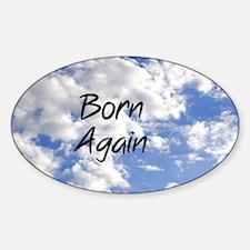 Born Again Decal