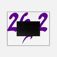 Purple 26.2 marathon Picture Frame