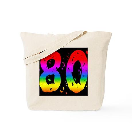 Fun Rainbow 80 Tote Bag