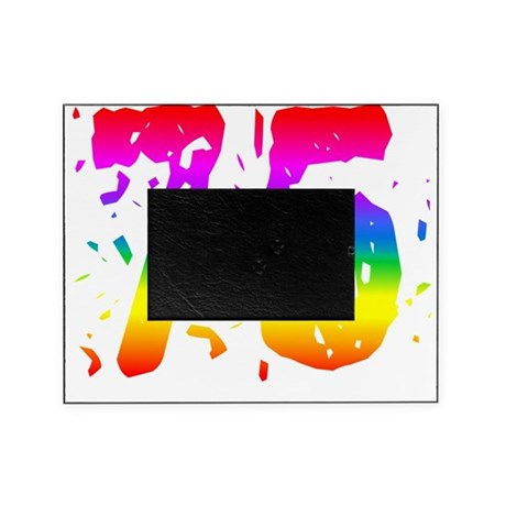 Confetti Rainbow 75 Picture Frame