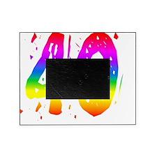 Confetti Rainbow 40 Picture Frame