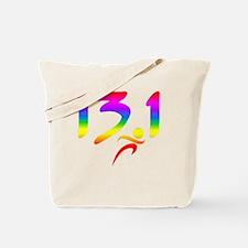 Rainbow 13.1 half-marathon Tote Bag