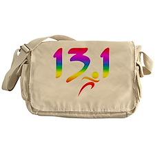 Rainbow 13.1 half-marathon Messenger Bag