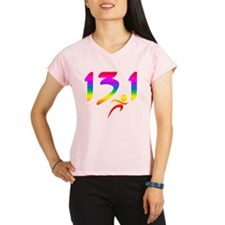 Rainbow 13.1 half-marathon Performance Dry T-Shirt