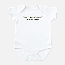 One Tibetan Mastiff Infant Bodysuit