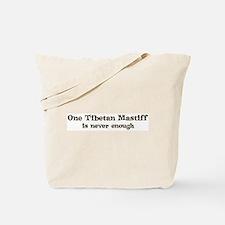 One Tibetan Mastiff Tote Bag