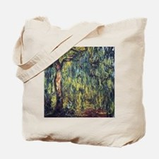 Weeping Willow by Claude Monet Tote Bag
