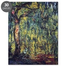 Weeping Willow by Claude Monet Puzzle