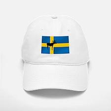 Swedens Elk / Moose Flag Baseball Baseball Cap