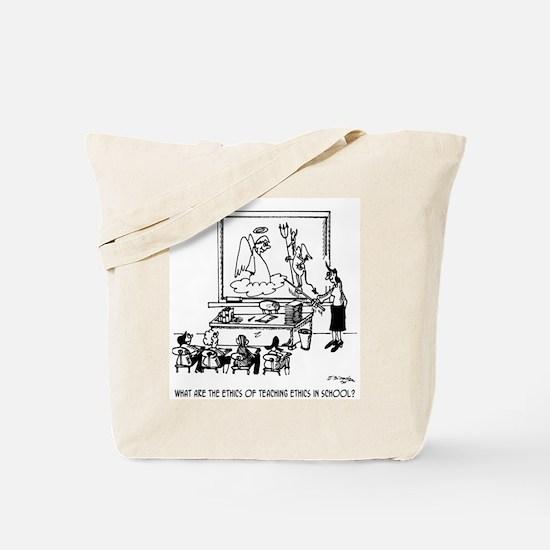 Ethics of Teaching Ethics Tote Bag