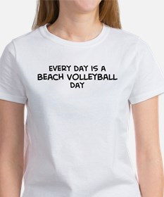 Beach Volleyball day Tee