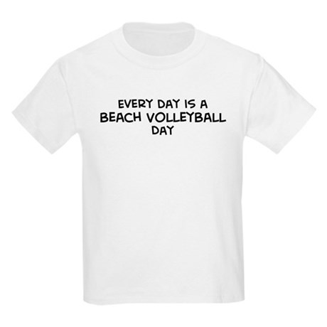 Beach Volleyball day Kids T-Shirt
