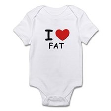 I love fat Infant Bodysuit