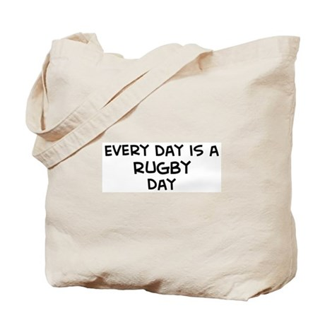 Rugby day Tote Bag