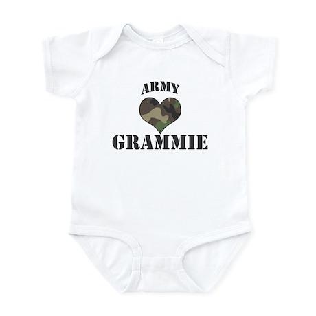 Grammie: Camo Heart Infant Bodysuit