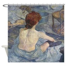 La Toilette Shower Curtain