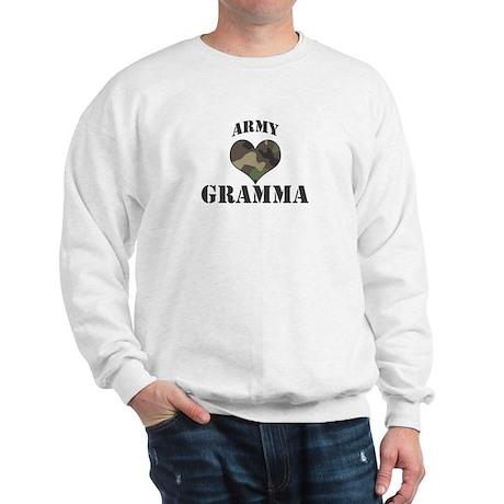 Gramma: Camo Heart Sweatshirt