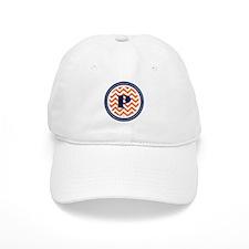 Orange & Navy Baseball Baseball Cap