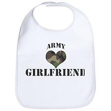 Girlfriend: Camo Heart Bib