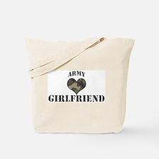 Girlfriend: Camo Heart Tote Bag